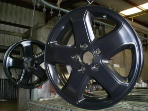 Powder Coated Wheel
